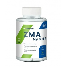 Тестобустер Cybermass ZMA Mg+Zn+B6 90 кап.